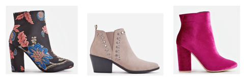 JustFab shoes holiday