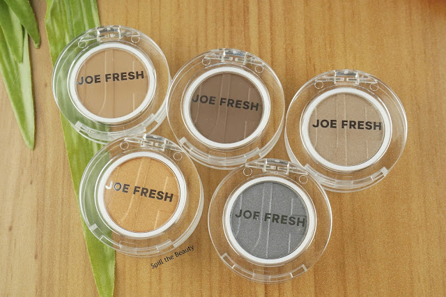 joe fresh 2017 eyeshadow eyeliner highlighter stick lip balm review swatches