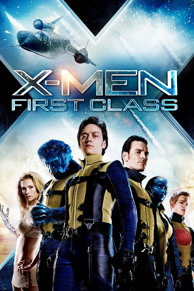 Poster of X-Men 5 First Class (2011) Dual Audio [Hindi-DD5.1] 1080p BluRay ESubs Download