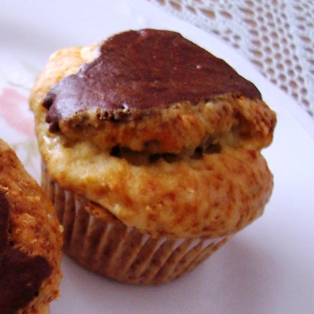 Muffins Blanco y Negro. Receta