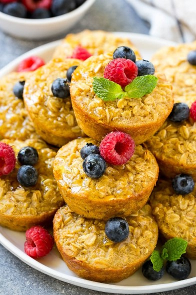 BAKED OATMEAL CUPS RECIPES