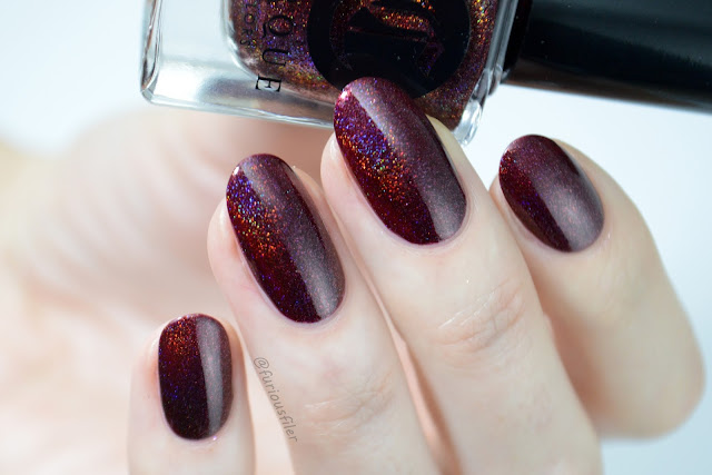 cirque ambrosia swatch furious filer christmas nails