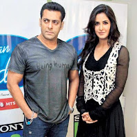 Salman Khan dengan Katrina Kaif