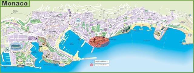 Monaco Map Car Radio GPS