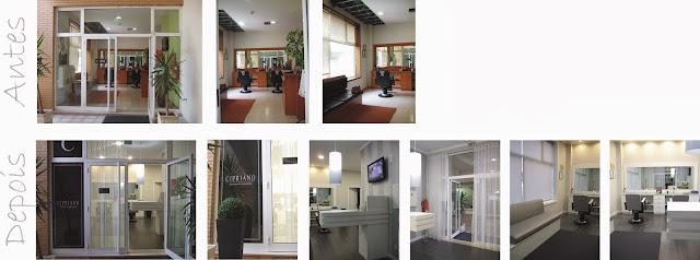 decoracao de interiores povoa de varzim: cabeleireiro masculino Oliveira de Azemeis concluído – Outubro 2013
