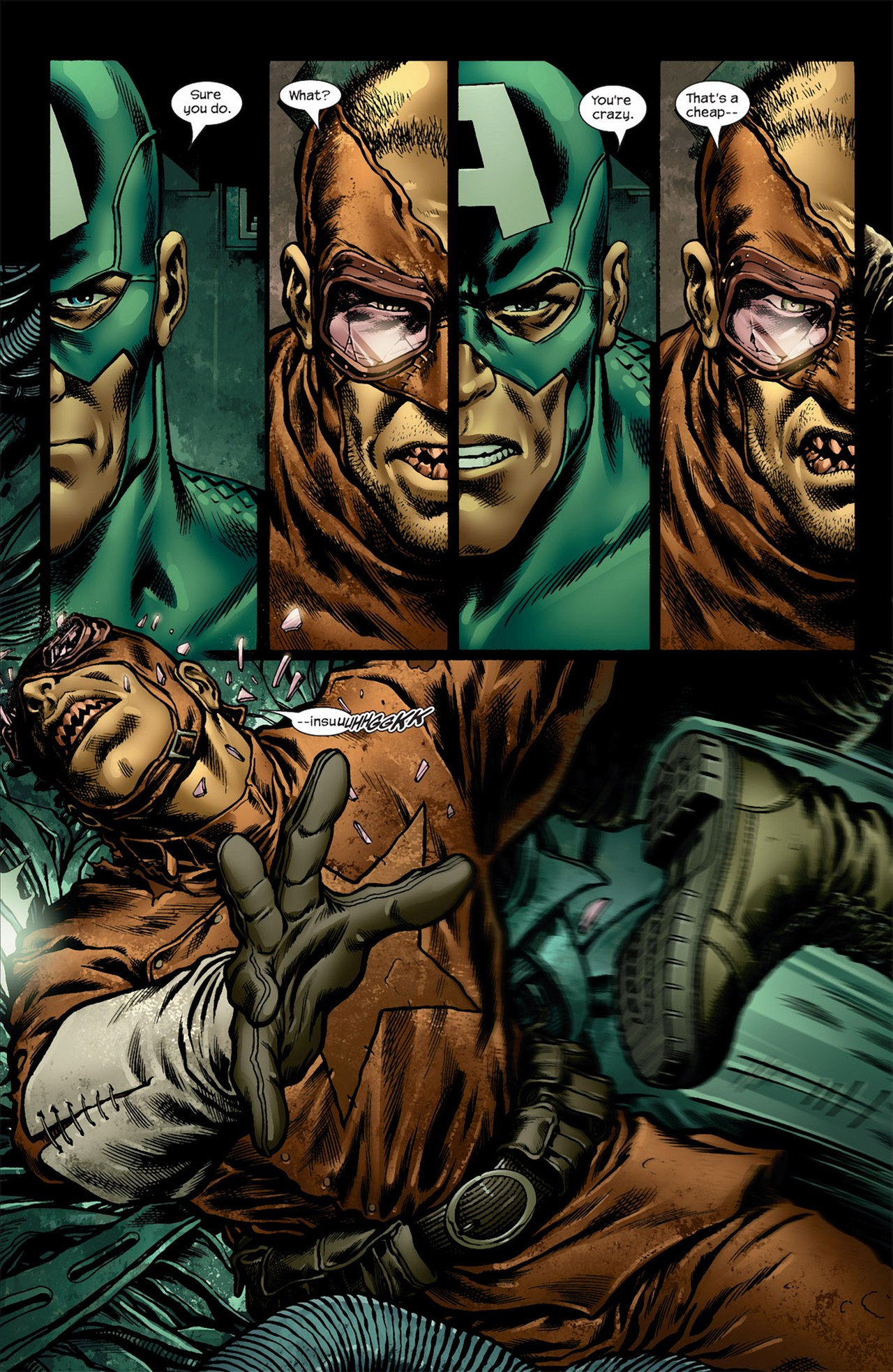 Read online Ultimate Nightmare comic -  Issue #5 - 4