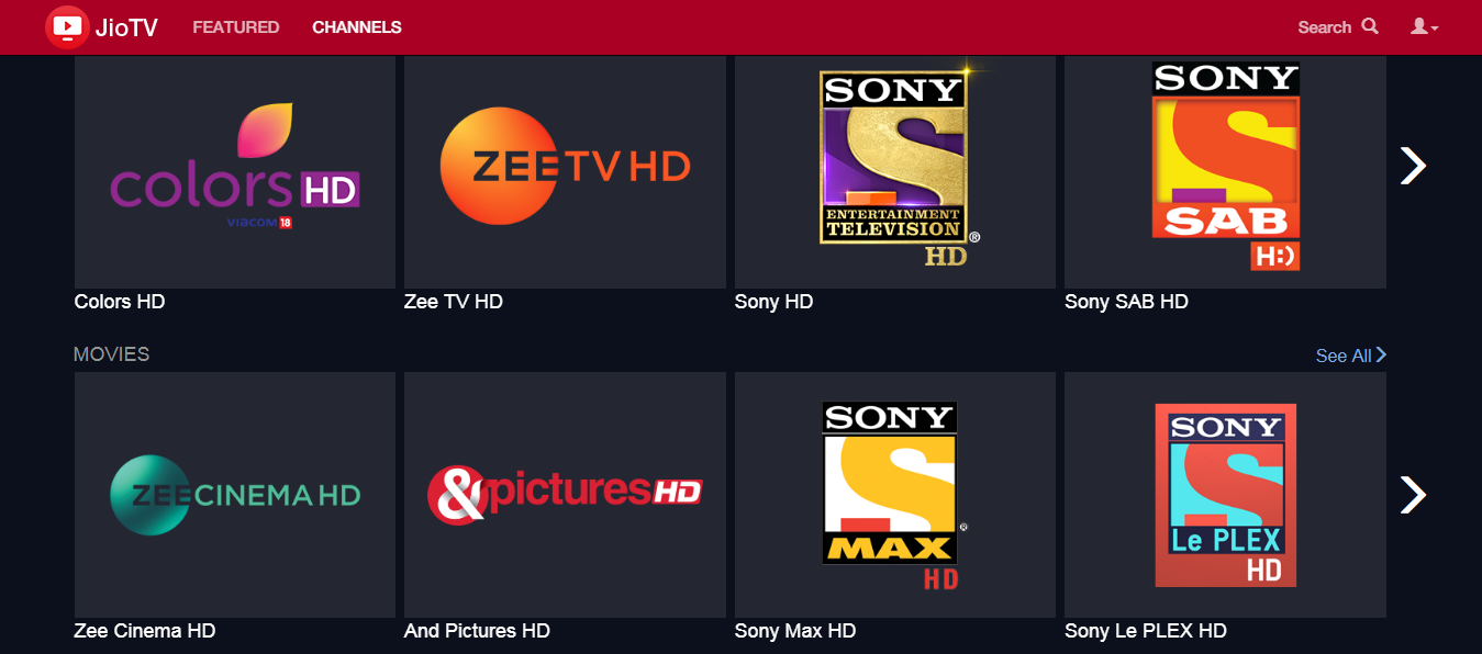 Jio launched Jio TV Web Version - Prime Techno