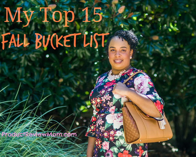 My Top 15 Fall Bucket List  via  www.productreviewmom.com