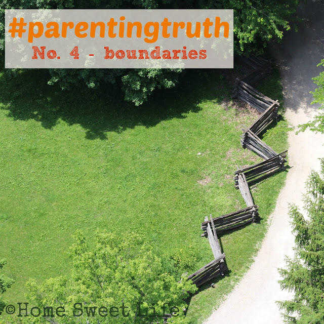 parenting truths, family boundaries, childhood, security, house rules