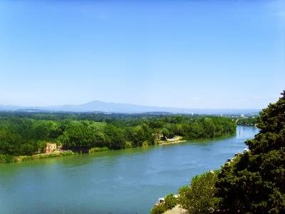 Rio Ródano na Europa