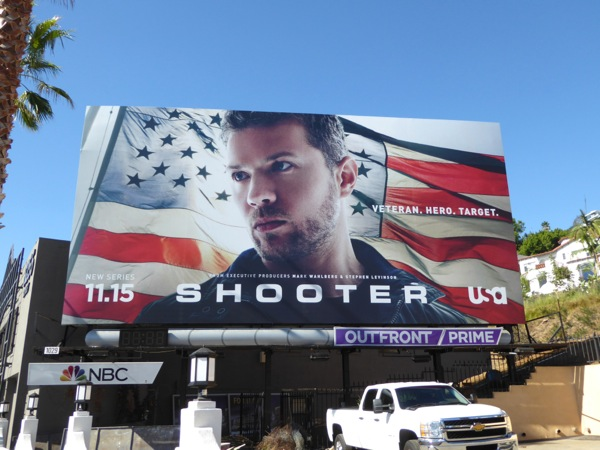 Ryan Phillippe Shooter series premiere billboard