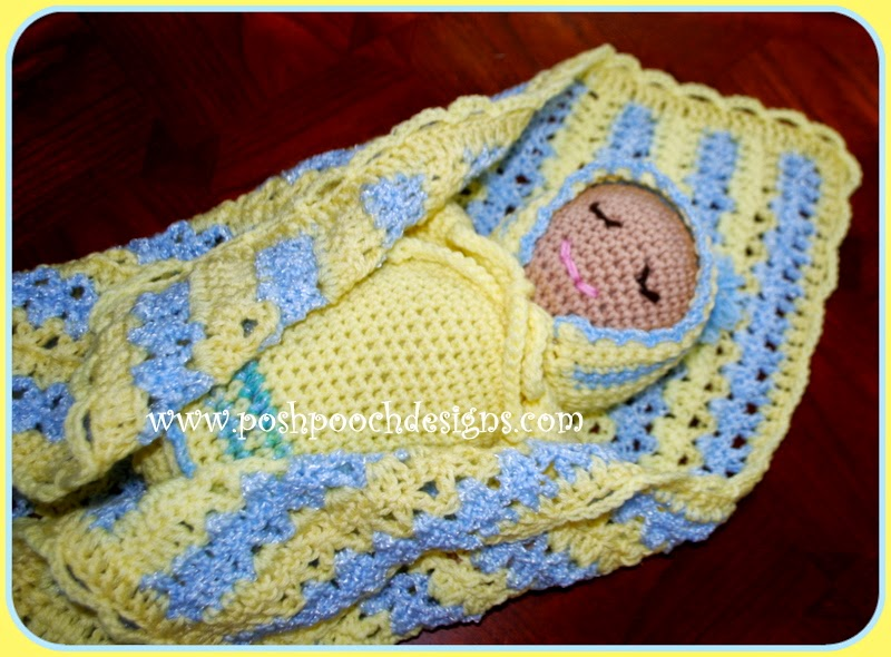 Posh Pooch Designs Dog Clothes: Sweet Baby Doll Stuffie Free Crochet ...