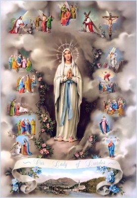 Nossa Senhora da Imaculada Conceição - 15 Mistérios do Rosário