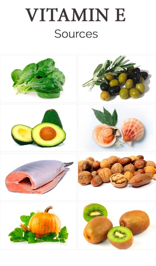 Foods High In Vitamin K E