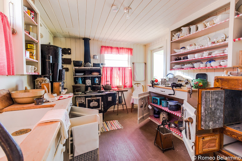 Laws Railroad Museum Agent's House Kitchen Things to Do in Bishop California