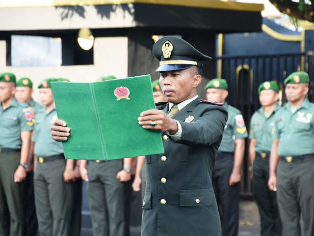 Peringati Hari Kesaktian Pancasila, 178 Prajurit Korem Babullah Naik Pangkat