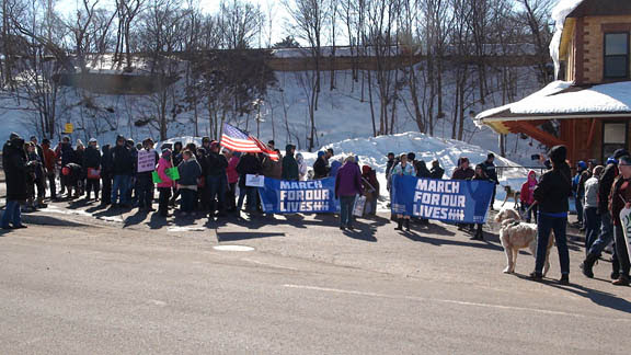 Slide Show: Keweenaw March for Our Lives