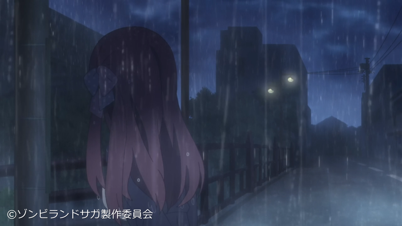 Zombieland Saga - Anime VS Local Real