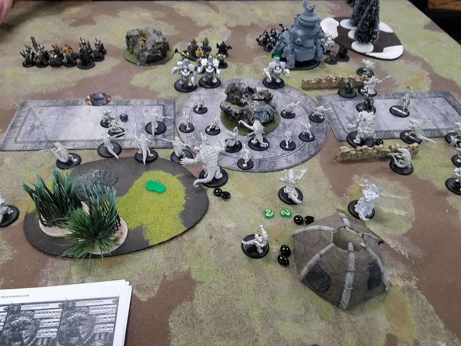 Middle of Turn 2- blood beginning to flow