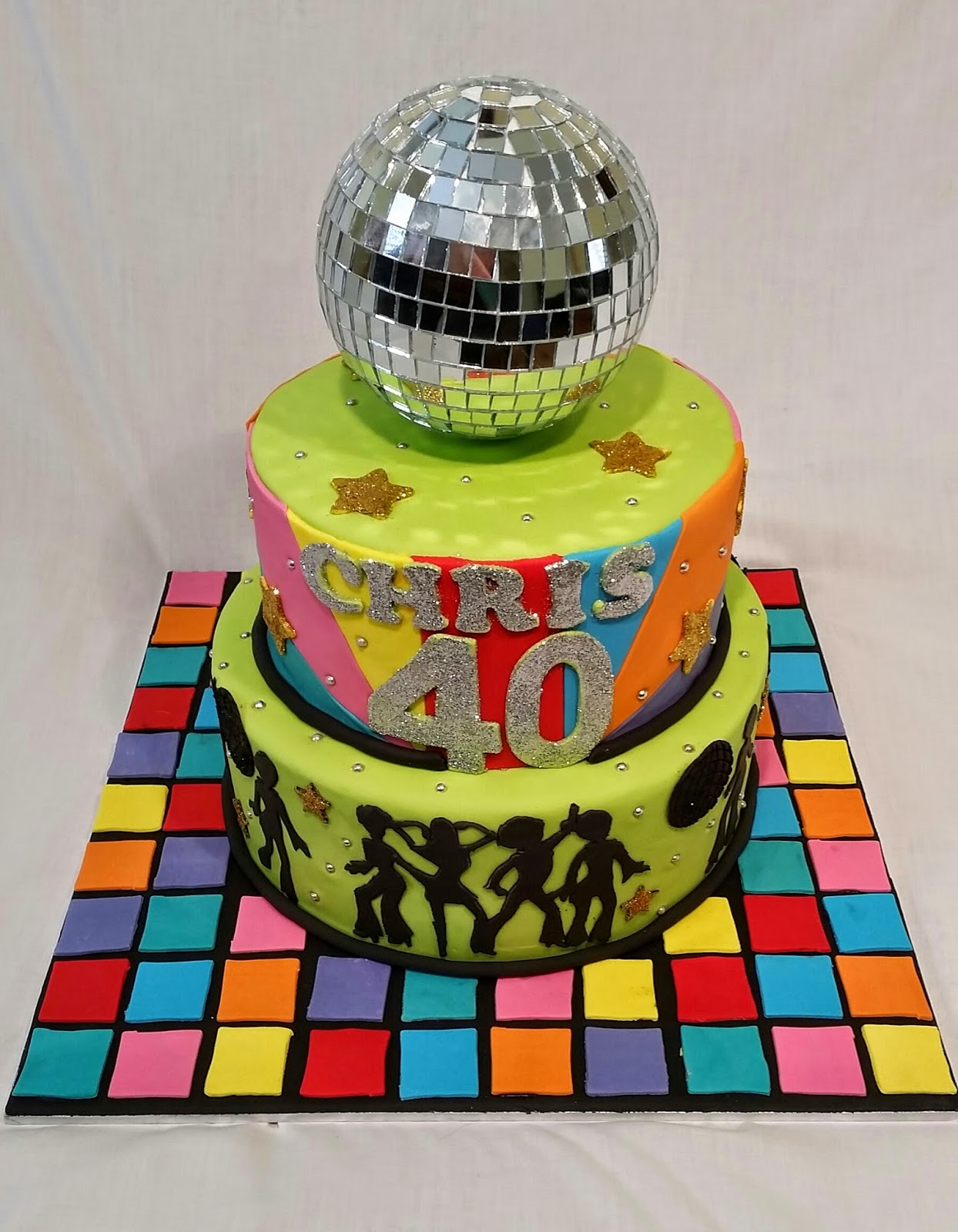 Cakes And Other Delights: 70's Disco