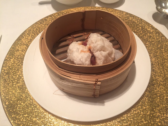 Barbecued pork bun at Shang Palace, Shangri-La Paris