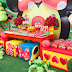 Tema da Festa: Jardim da Minnie!