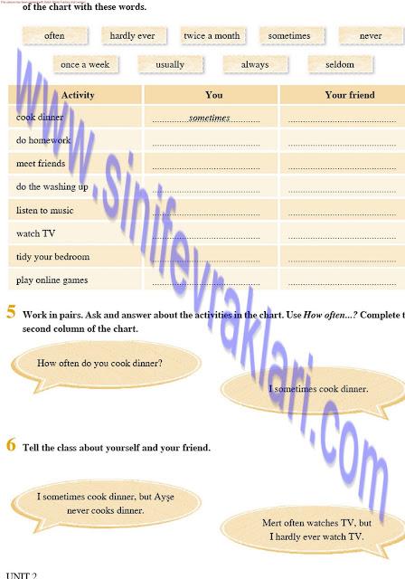 8. Sınıf İngilizce Ders Kitabı Cevapları Tutku Yayınları Sayfa 24