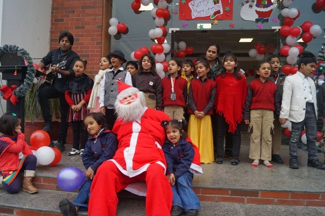 Christmas Carnival at Manav Rachna International School, Sector 51, Noida