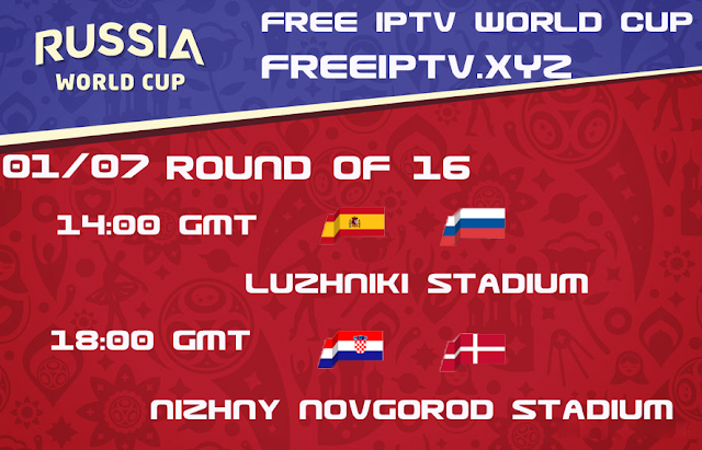 World cup 2018 iptv free channel sport 01/07/2018