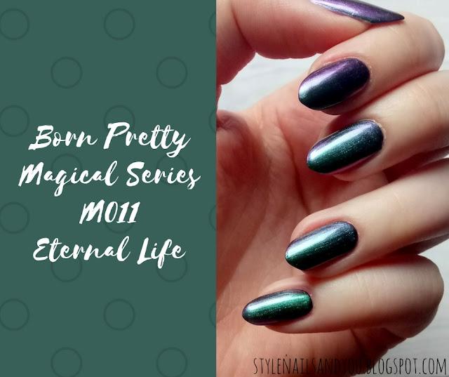 Born Pretty Magical Series M011 Eternal Life | Born Pretty Store Review
