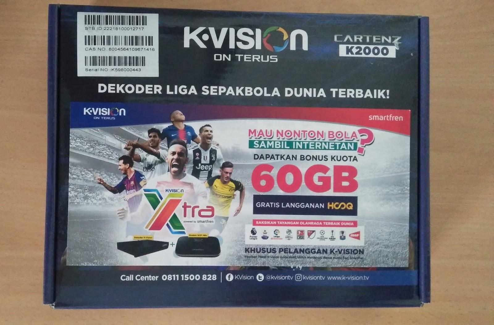 Unboxing K Vision Xtra Bonus Mifi Smartfren 60gb Cara Mudah Belajar Elektronika Digital