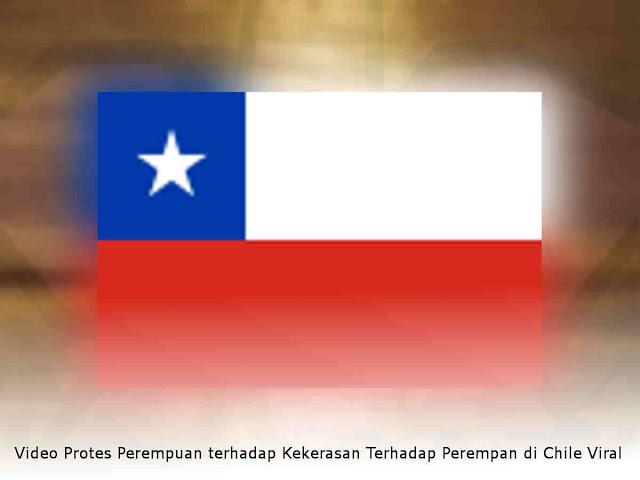 Video Protes Perempuan terhadap Kekerasan Terhadap Perempan di Chili Viral