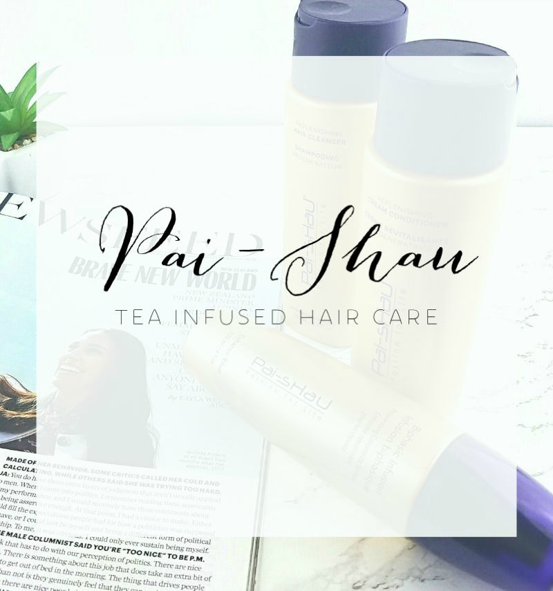Pai Shau Tea Infused Hair Care | The Real Scoop Review