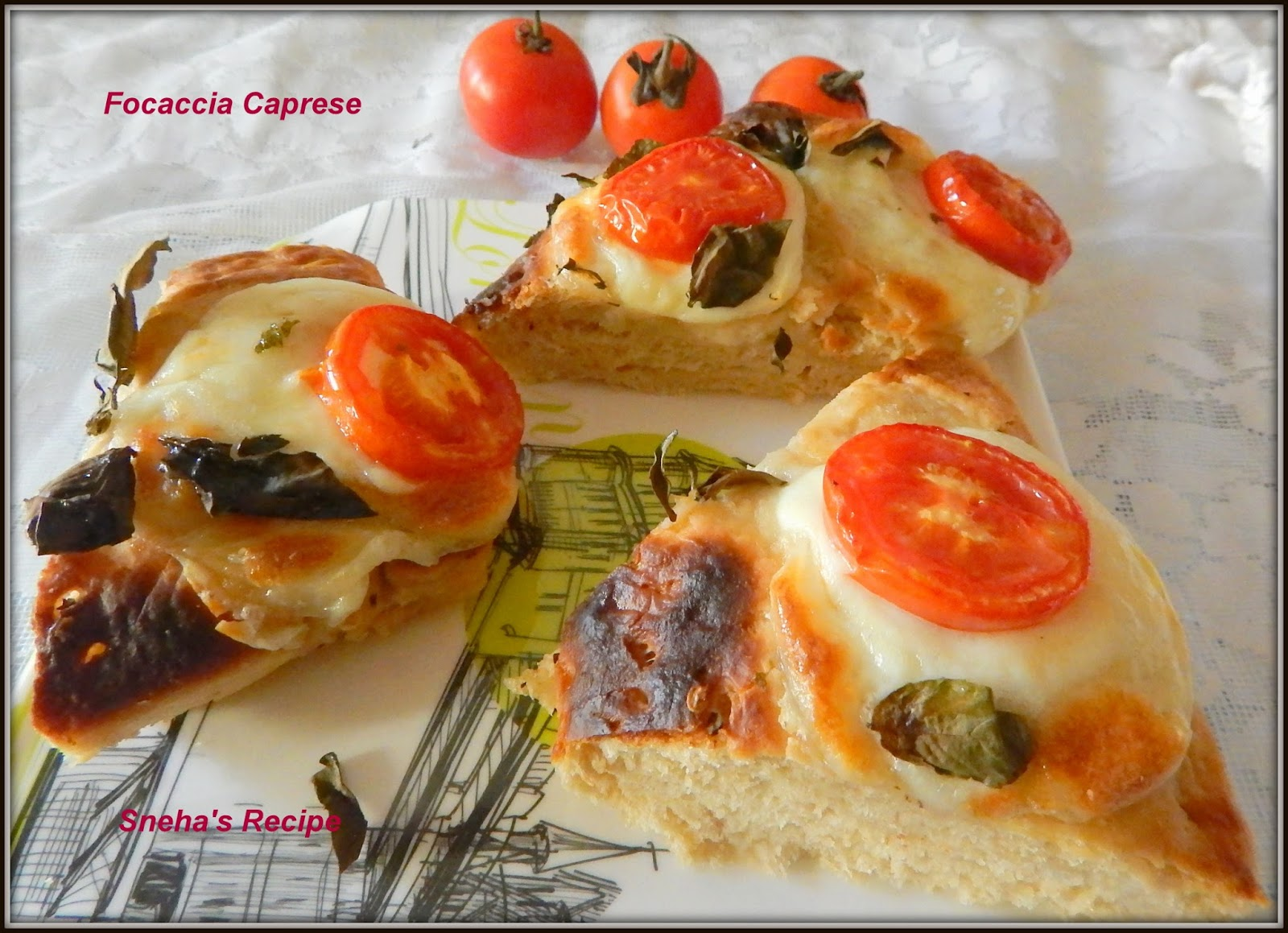 Drizzle Some More Herbed Oil Over The Topping And Return Bread To Oven Turn 220 C Bake Focaccia For 5 Minutes Or Until