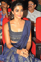 Pooja Hegde choli saree at DJ Duvvada Jaggannadham music launch ~  Exclusive 41.jpg