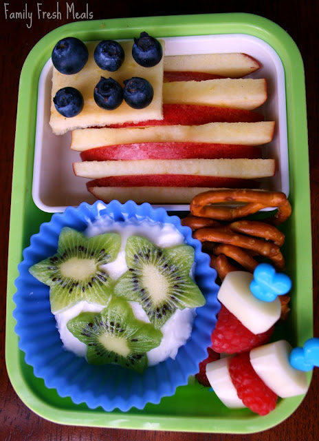 4th of July lunch idea