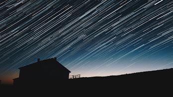 Night, Sky, Stars, Scenery, Long Exposure, 8K, #4.2339