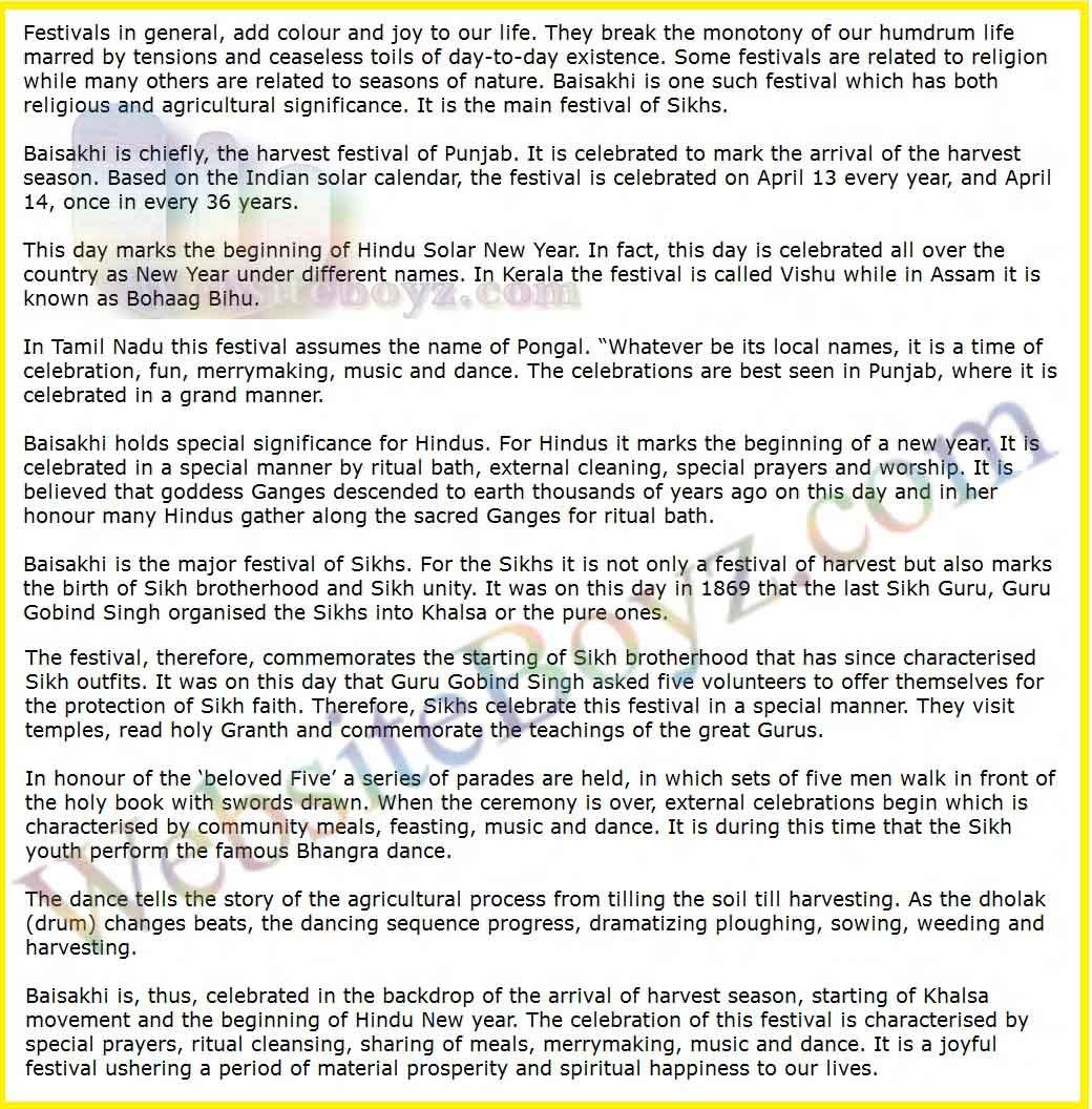 Essay On Lohri Written In Punjabi Language :