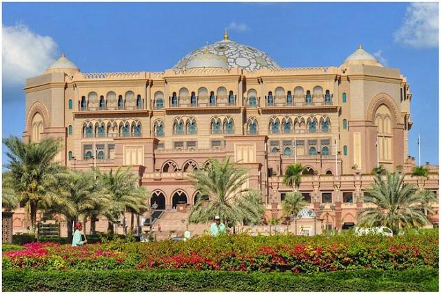 Hotel Emirates Palace de Abu Dabi en los Emiratos