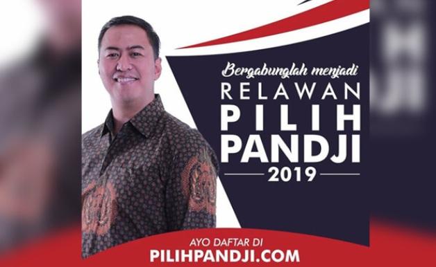 Terjun ke Politik, Pandji Pragiwaksono Buka Pendaftaran Relawan