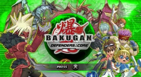 game PPSSPP Bakugan