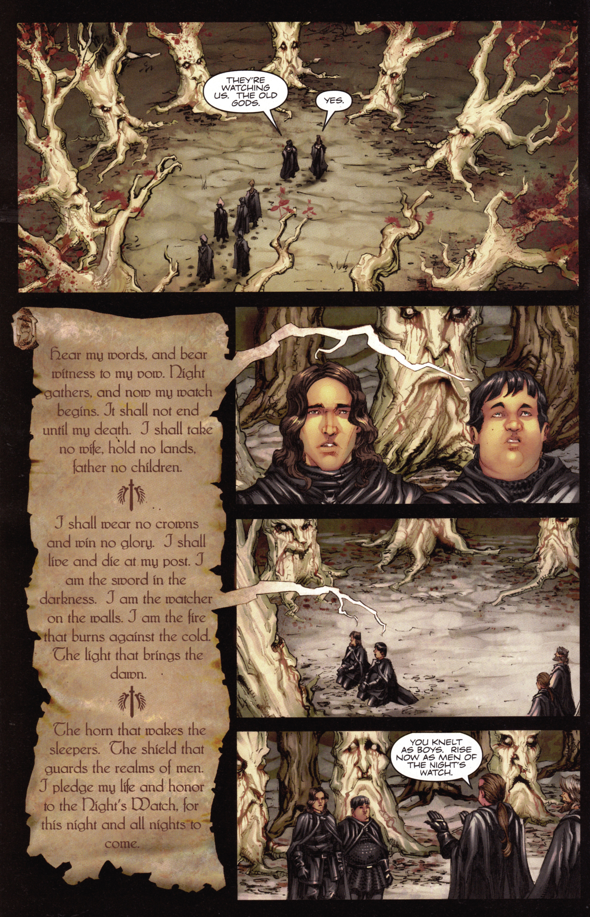 Read online A Game Of Thrones comic -  Issue #15 - 10