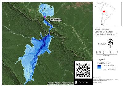 represa hidroelectrica Chepete inundacion