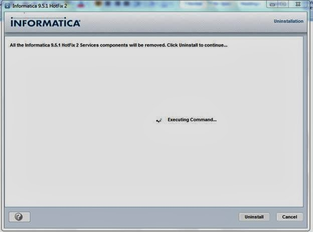 Uninstall informatica 9 5 1 datawarehouse architect for Informatica 9 architecture
