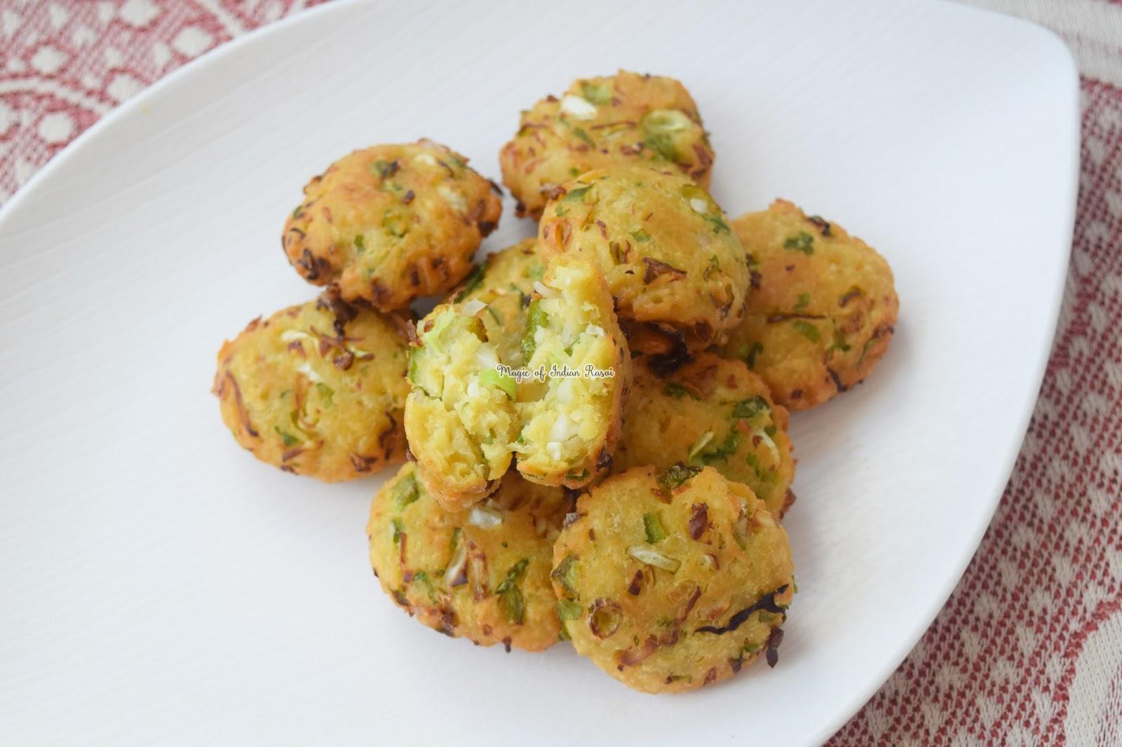 Maggi Vada - Kids Special Recipe - मैगी वड़ा रेसिपी - Priya R - Magic of Indian Rasoi