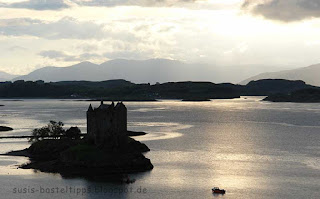 Castle Stalker, Schottland Foto von Stampin up Demonstratorin in Coburg