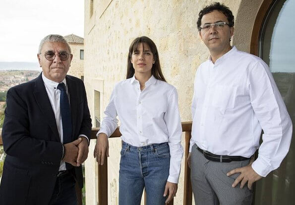 Charlotte Casiraghi attended the 14th Hay Festival Segovia 2019