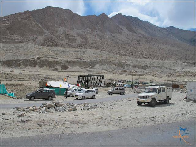 Tangste Village, Estradas de Ladakh, Índia