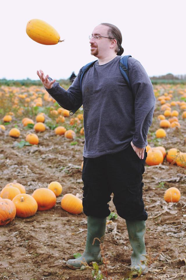 Pumpkin tosser
