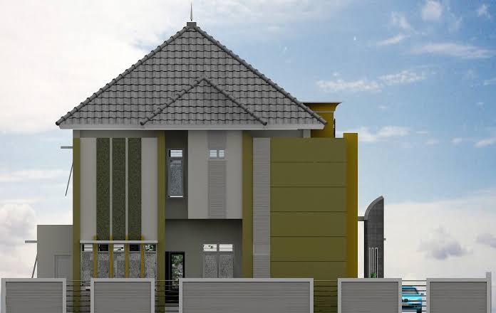 Kantor Desa Kota Guring Lamsel Akan Menjadi 2 Lantai